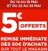 coupon Geant Casino 5 euros