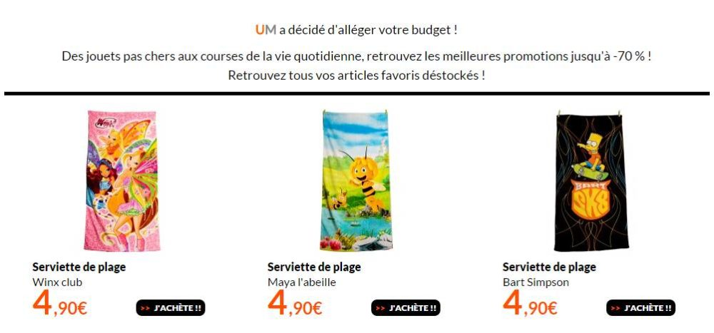 4 90 euros le drap de plage bart simpson maya ou winx 70 x 140 cm 6 5 de port. Black Bedroom Furniture Sets. Home Design Ideas