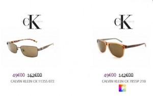 lunettes Cavin Klein à 49 euros
