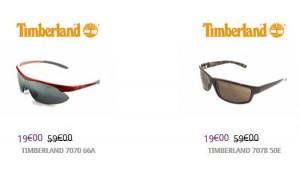 lunettes Timberland à 19 euros
