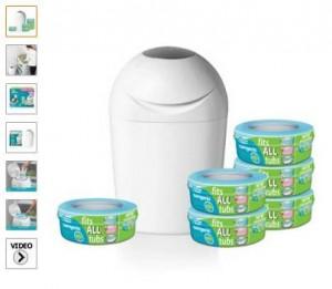 37 euros la poubelle couches sangenic 6 recharges - Recharges poubelle a couches sangenic ...