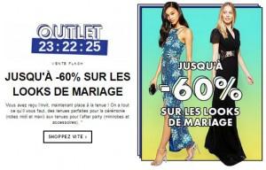 vente flash spécial mariage Asos