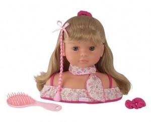 vente flash tête à coiffer Mademoiselle Corolle