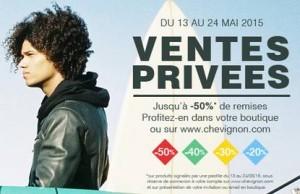 vente privée Chevignon