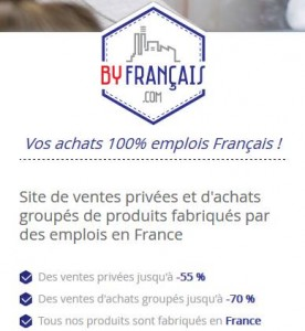 By Français ventes privées articles français