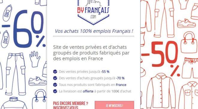 By Français ventes privées françaises