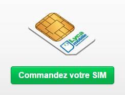 Carte Sim gratuite Lycamobile