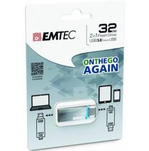Cle USB 3.0 32Go Emtec On The Go à moins de 16 euros