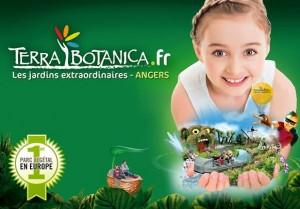Entrée Terra Botanica à moitié prix