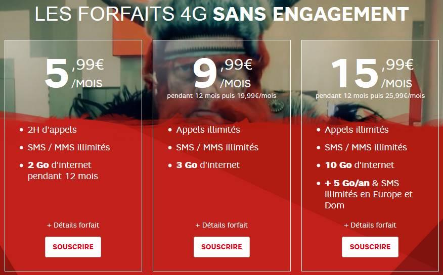 Vente flash forfaits sfr sans engagements 9 99 euros sfr - Vente flash internet ...