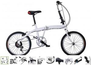Moins de 100 euros le vélo pliable