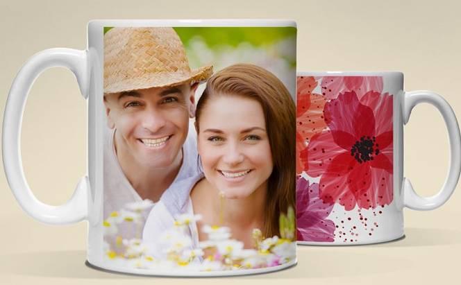 Mug photo personnalisé pour seulement 1 euro
