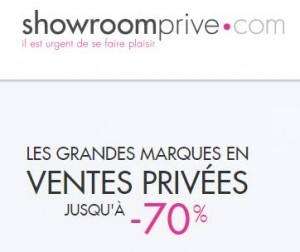 Remises Showroomprivé