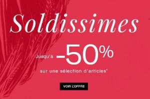 Soldes Galeries Lafayette 20 euros offerts en bon d'achat