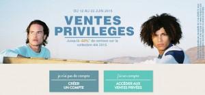Ventes privilèges de pré soldes Chevignon
