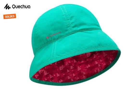 bob Anti-UV reversible enfants Quechua