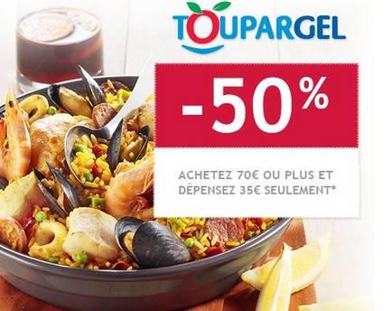 70 euros d achats sur toupargel pour 35 euros - Code promo rue du commerce frais de port gratuit ...