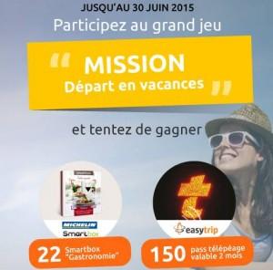 concours Mission depart en Vacances Revisez votre voiture