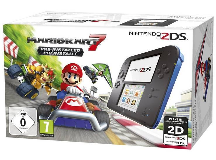 console Nintendo 2DS Mario Kart 7 en soldes sur Amazon