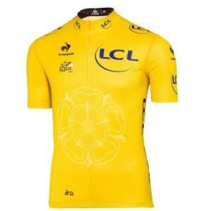 maillot jaune Tour de France Le Coq Sportif