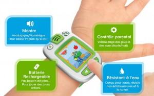 montre interactive enfant LeapBand