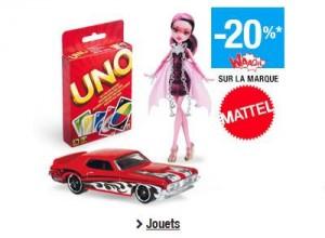 offre spéciale Mattel carte Waaoh Auchan