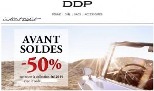 pré-soldes DDP