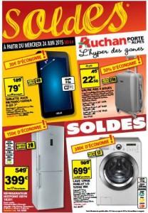soldes Auchan d'ete 2015