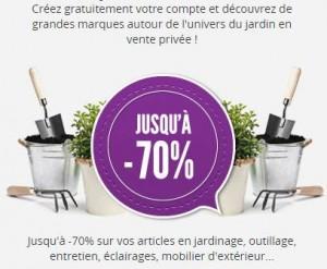 vip jardin les ventes priv es pour votre jardin 10 euros de remises d s 60 euros. Black Bedroom Furniture Sets. Home Design Ideas