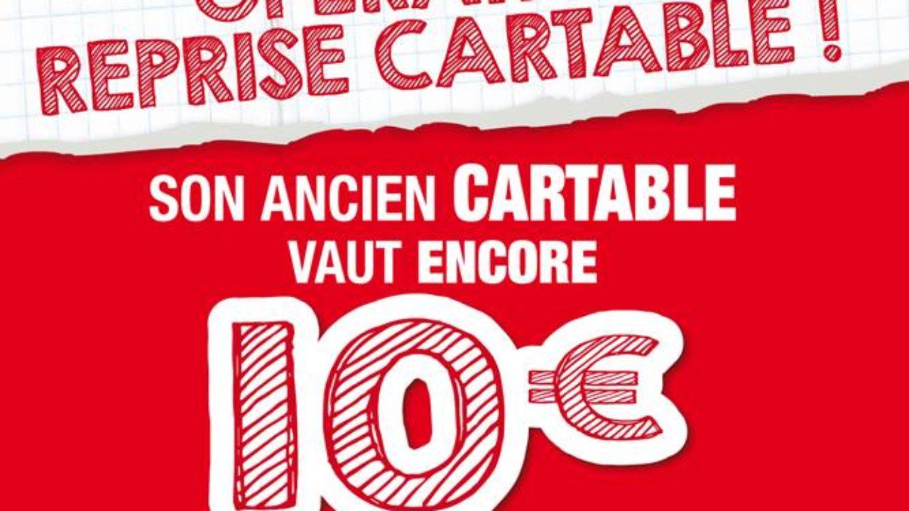 7f3ae21c32 Bon plan Rentrée scolaire : Ancien cartable repris 10 euros chez Carrefour,  Auchan, Auchan Drive et Carrefour Market | Bons Plans Malins