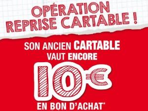 Ancien cartable repris 10 euros