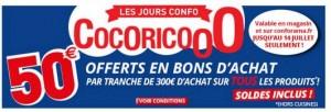 CONFORAMA 50 euros par tranche de 300 euros