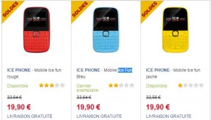 Ice Phone Mini Fun à moins de 20 euros