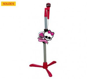 Micro sur pied Karaoké Monster High