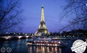 PROMO Croisière promenade sur la Seine