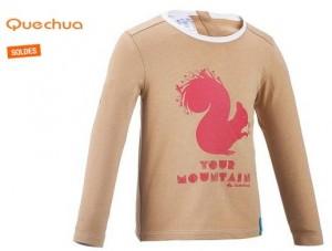 T-shirt Anti-UV randonnée Quechua