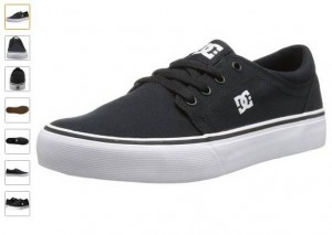 baskets DC Shoes Trade TX à 16 euros