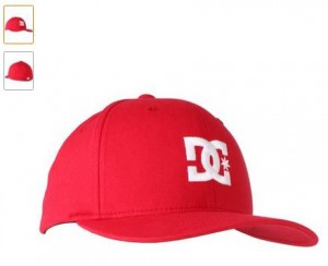 casquette DC Shoes à 9,60 euros