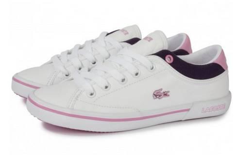 Bon Pour Filleroseblancgris27 Lacoste Plan Chaussures Angha 0vN8mwn