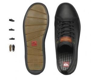 chaussures Quiksilver à moitié prix