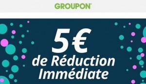 code promo Groupon 5 euros
