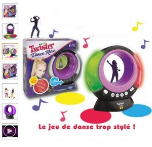 jeu Twister Rave Dance en soldes à 10 euros