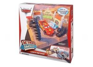 station de pneu Cars Luigi's Tire Shop en soldes moitié prix
