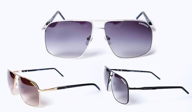 49,90 euros les lunettes de soleil Carrera port inclus (couleur or, argent  ou noir) au lieu de 150 euros 27a8daf27d57