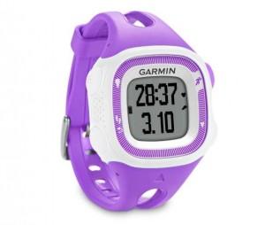 montre GPS Forerunner 15 violette de Garmin