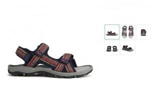 sandales homme Gola à moins de 15 euros.