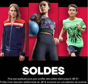 soldes Adidas d'été 2015