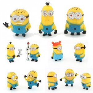 12 figurines Minions à 5,11 euros port inclus