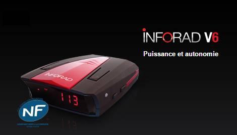 Assistant d'aide à la conduite Inforad V6 GPS à moins de 30 euros