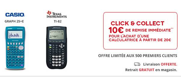 Calculatrice pas chère Darty